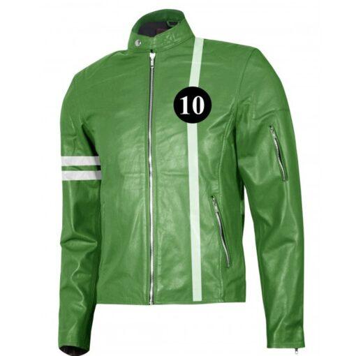 Ben 10 Leather Jacket Alien Swarm