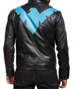 Arkham Nightwing Leather Jacket