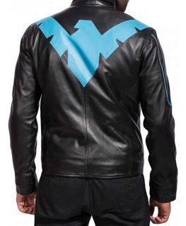 Arkham Nightwing Leather Jacket