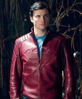 Superman Tom Welling Leather Jacket