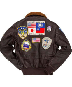 Top Gun Pete Maverick Leather Jacket