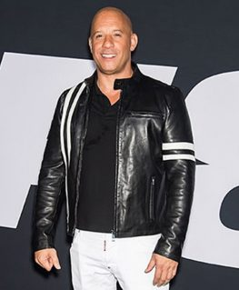 Dominic Toretto Fate Of The Furious 8 Vin Diesel Premiere Jacket