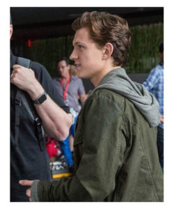 Spider Man Homecoming Tom Holland Green Jacket