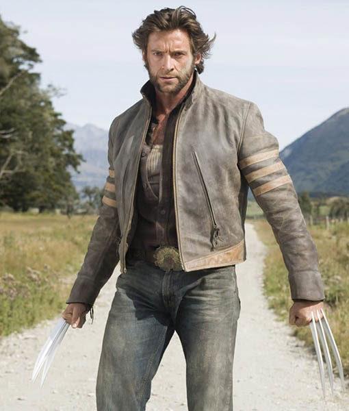 X-Men Origins Wolverine Biker Jacket