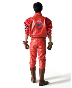 Akira Kaneda Red Leather Jacket