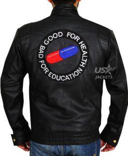 Akira Kaneda Capsule Black Pill Biker Leather Jacket
