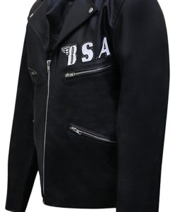 George Michael Faith BSA Rockers Revenge Leather Jacket
