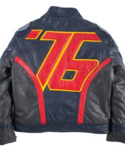 Soldier 76 Overwatch Black Jacket