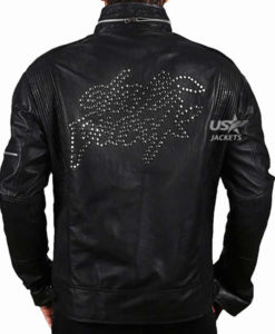 Daft Punk Electroma Black Leather Jacket