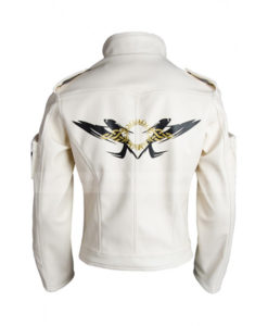 Kyo Kusanagi The King of Fighters World White Leather Jacket