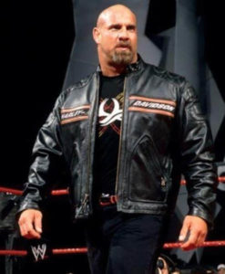 WWE Goldberg Harley Davidson Biker HD Leather Jacket