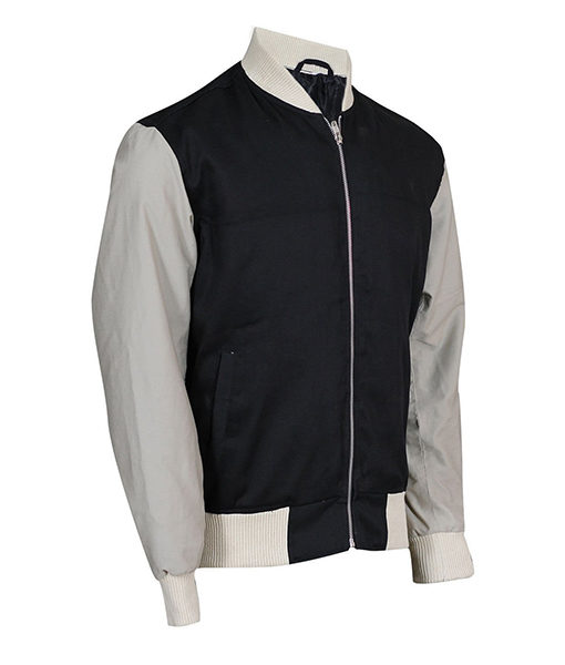 Ansel Elgort Baby Driver Varsity Jacket