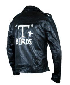 John Travolta (Danny Zuko) Grease T-Bird Black Jacket