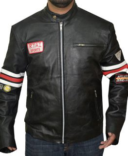 RTAI Sports DR House MD Leather Jacket