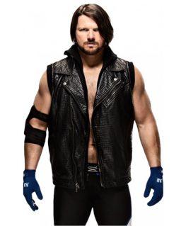 Aj Styles Black Hoodie With Vest