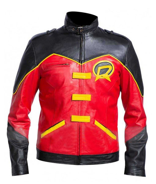 Batman Tim Drake Red Robin Jacket