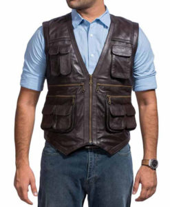 Chris Pratt Brown Jurassic World Vest