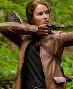 Hunger Games Jennifer Lawrence Jacket