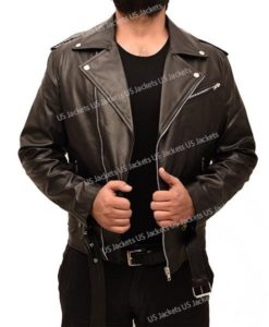 Jughead Jones Riverdale Cole Sprouse Black Leather Jacket