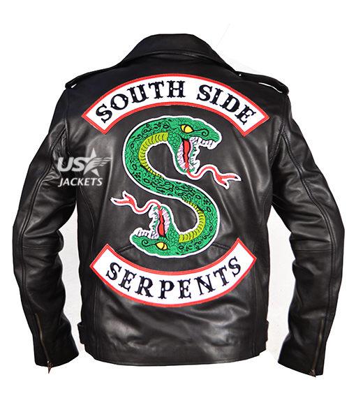 Jughead Jones Riverdale Southside Serpents Leather Jacket