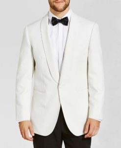 James Bond White Tuxedo
