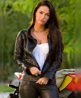 Transformers 2 Megan Fox Leather Jacket