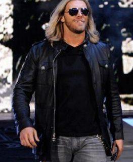 WWE Edge Black Leather Jacket