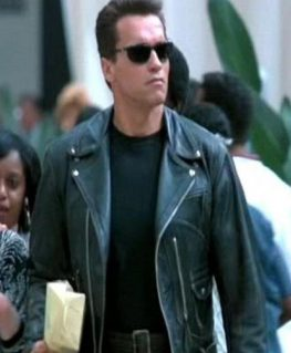 Terminator 2 Judgment Day Leather Jacket