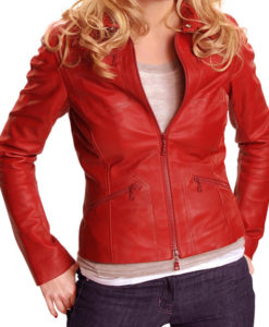 Red Emma Swan Once Upon A Time Leather Jacket