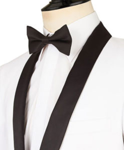 Brayden Black Shawl Lapel White Tuxedo