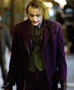 The Dark Knight Joker Purple Coat