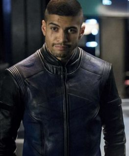 Arrow 6 Rick Gonzalez Leather Jacket
