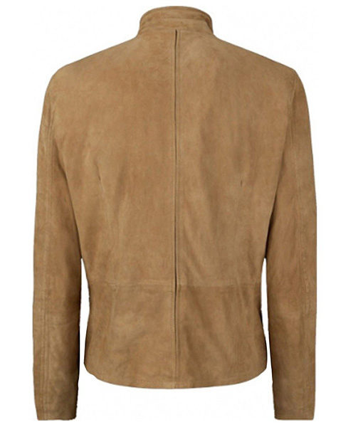 Spectre James Bond Morocco Daniel Craig Suede Leather Jacket