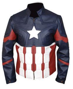 Avengers Endgame Civil Captain America Leather Jacket
