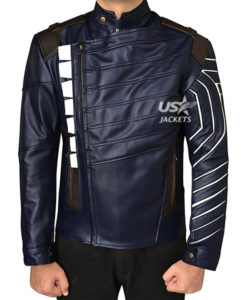 Avengers Infinity War Bucky Barnes (Sebastian Stan) Costume Vest Jacket