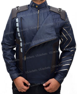 Avengers Infinity War Bucky Barnes Jacket