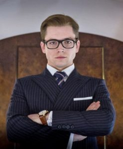 Kingsman Blue Double Breasted Suit