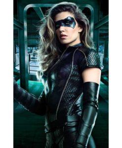 Arrow Season 6 Dinah Drake Leather Jacket