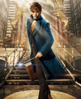 Fantastic Beasts Newt Scamander Coat