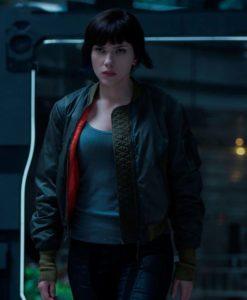 Ghost In The Shell Scarlett Johansson Major Jacket