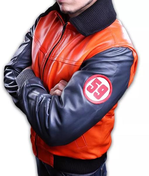 Dragon Ball Z Goku 59 Orange Jacket