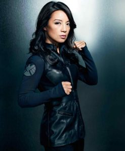Agents of Shield Melinda May Leather Vest
