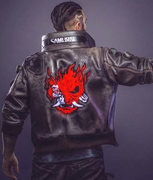 Cyberpunk 2077 Jacket | Samurai Leather Jacket