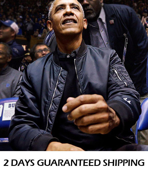 Barack Obama 44 Bomber Jacket