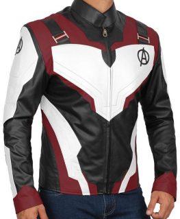 Avengers Endgame Quantum Realm Leather Jacket