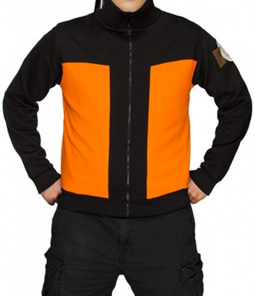 Shippuden Track Naruto Uzumaki Jacket