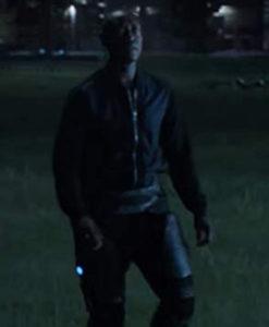 Avengers Endgame James Rhodes Black Leather Jacket