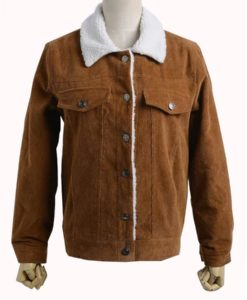Shazam Billy Batson Brown Jacket