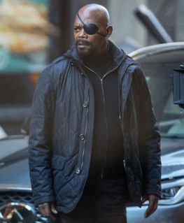Spider-Man Far From Home Nick Fury Jacket