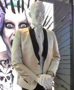 Jared Leto Joker Ivory Tuxedo With Free T-Shirt